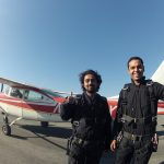 CISL SF Toefl student Saeed gets ready to skydive!
