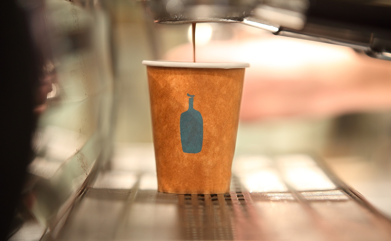 Photo from Blue Bottle Coffee.