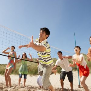 Grammar lesson of the month: commonly confused words (and the best place for beach volleyball in SD!)
