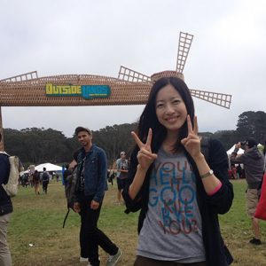 Ellie's experiences from the Outside Lands Music Festival in San Francisco