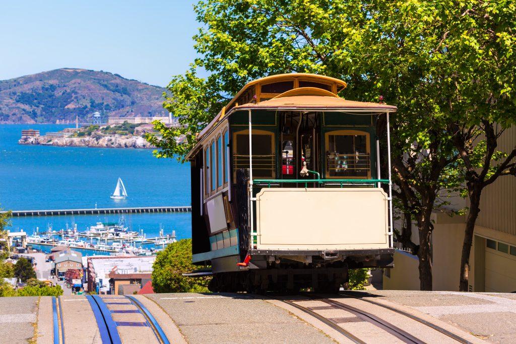 San Francisco Cable Car Bay View