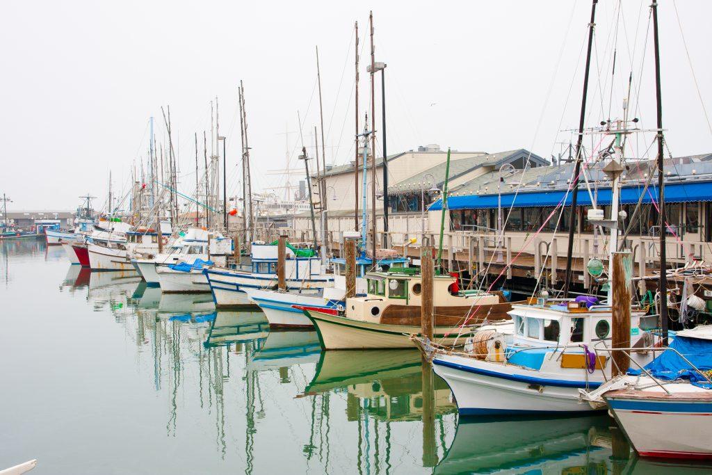 San Francisco Pier Boat Ship