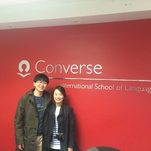 Language classes and love: newlyweds visit CISL, where they met!