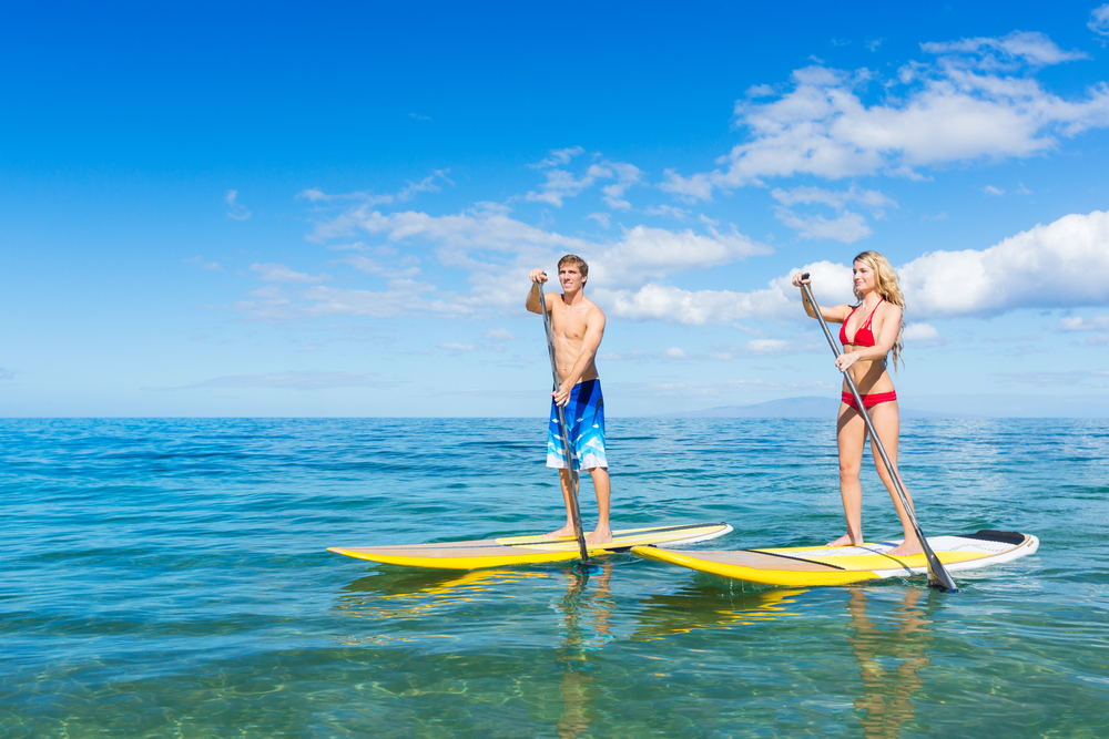 "Paddleboarding in Mission Beach + ""Paddle"" Idioms"
