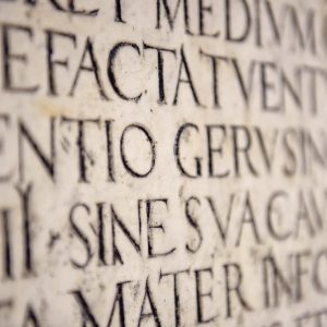 Grammar Lesson of the Month: Latin in English